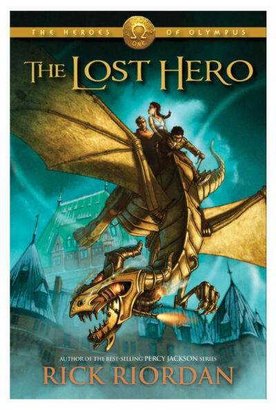 The Lost Hero (Heroes of Olympus, Book 1), Rick Riordan, Good Book