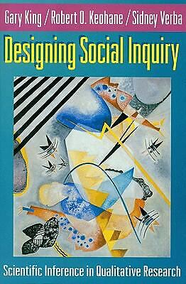 Designing Social Inquiry: Scientific Inference in Qualitative Research, Verba, S