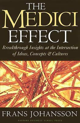 The Medici Effect: Breakthrough Insights at the Intersection of Ideas, Concepts,