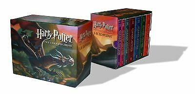 Harry Potter Paperback Box Set (Books 1-7), J. K. Rowling, Good Book