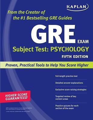 GRE Subject Test: Psychology, 5th Edition by Kaplan
