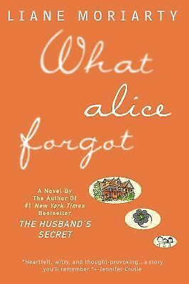 What Alice Forgot, Moriarty, Liane, Good Book
