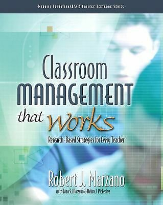 Classroom Management That Works: Research-Based Strategies for Every Teacher, Ma