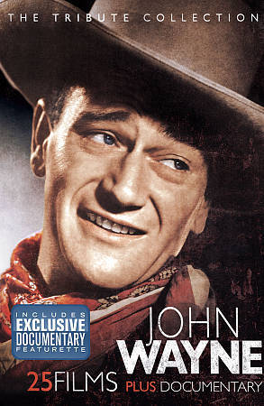 John Wayne - The Tribute Collection - Tin, Excellent DVD, Various,