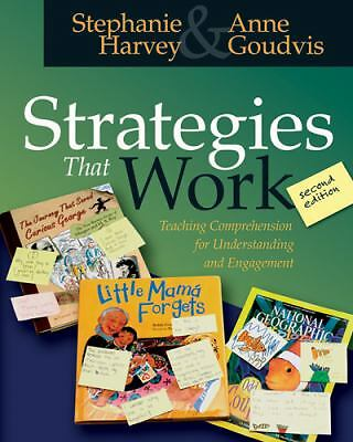 Strategies That Work: Teaching Comprehension for Understanding and Engagement, G