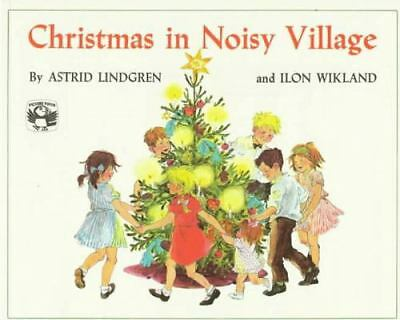 Christmas in Noisy Village (Picture Puffin), Lindgren, Astrid, Good, Books