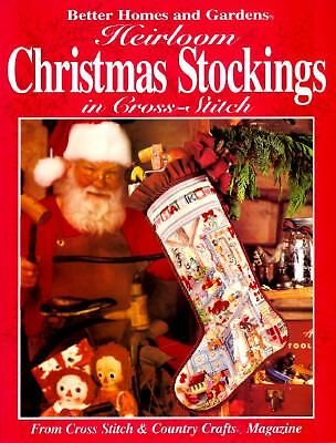 Heirloom Christmas Stockings in Cross-Stitch: From Cross Stitch & Country Crafts