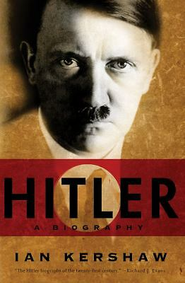 Hitler: A Biography, Kershaw, Ian, Acceptable Book