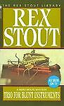 Trio for Blunt Instruments (Nero Wolfe), Stout, Rex, Acceptable Book