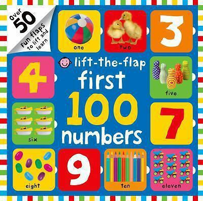 First 100 Numbers Lift-the-Flap, Priddy, Roger, Good Book