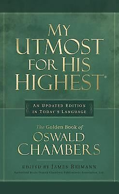 My Utmost for His Highest:  Updated Edition - Oswald Chambers - Good Condition