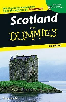 Scotland For Dummies (Dummies Travel), Shelby, Barry, Good Book