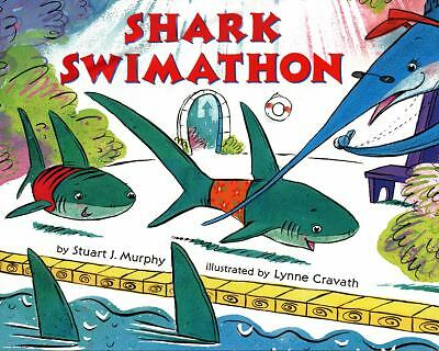 Shark Swimathon (MathStart 3), Murphy, Stuart J., Acceptable Book
