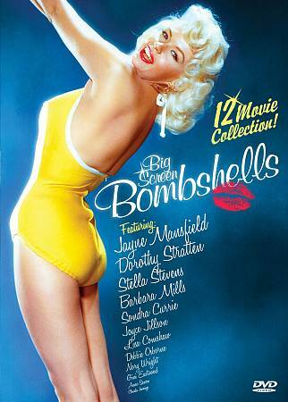 Big Screen Bombshells: 12 Movie Collection, Excellent DVD, John Carradine, Sonja