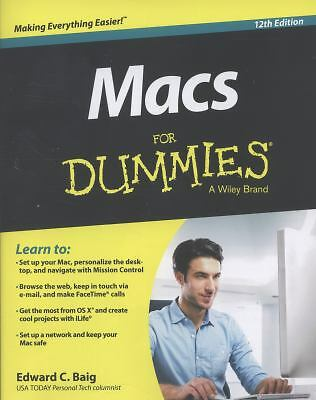 Macs For Dummies, Baig, Edward C., Good Book