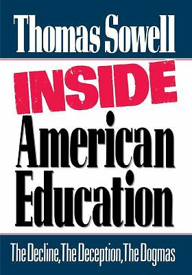 Inside American Education - Sowell, Thomas - Acceptable Condition