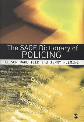 The SAGE Dictionary of Policing, , Good Book
