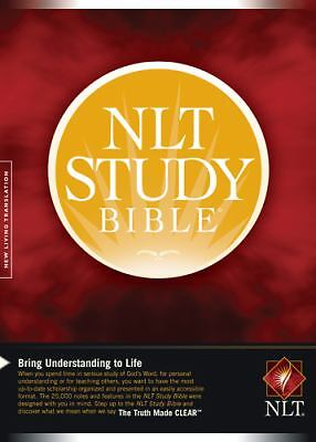 NLT Study Bible (Bible Nlt), , Good Book