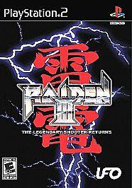 Raiden 3 - PlayStation 2, Good PlayStation2, Playstation 2 Video Games