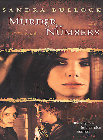 Murder by Numbers (DVD, 2002, Widescreen)
