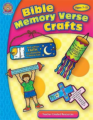 Bible Memory Verse Crafts (Bible Crafts) by Tucker, Mary
