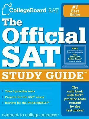 The Official SAT Study Guide, The College Board, Acceptable Book