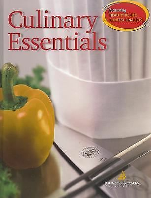 Culinary Essentials, Student Edition, McGraw-Hill, Johnson & Wales, Good Book