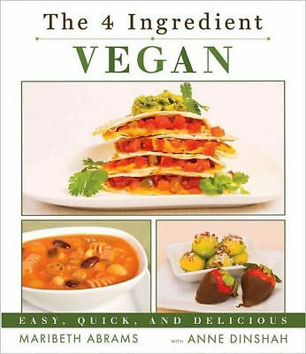 The 4-Ingredient Vegan, Maribeth Abrams, Good Book