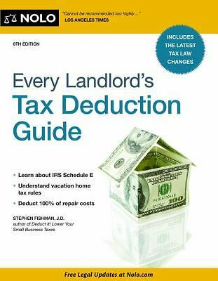 Every Landlord's Tax Deduction Guide, , Good Book