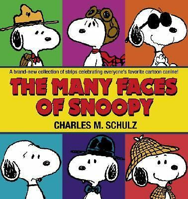 The Many Faces of Snoopy, Schulz, Charles M., Good Book
