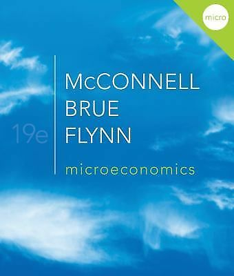 Microeconomics, Flynn, Sean, Brue, Stanley, McConnell, Campbell, Good Book