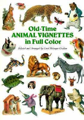 Old-Time Animal Vignettes in Full Color (Dover Pictorial Archive Series), , Acce