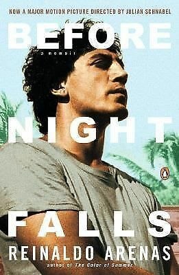 Before Night Falls: A Memoir - Reinaldo Arenas - Acceptable Condition
