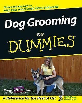 Dog Grooming For Dummies, Bonham, Margaret H., Acceptable Book