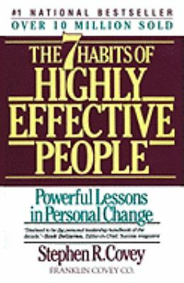 The 7 Habits of Highly Effective People, Stephen R. Covey, Good Book