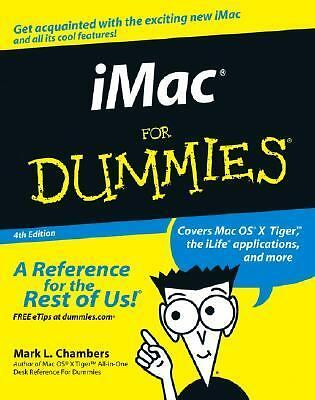 iMac For Dummies, Chambers, Mark L., Good Book