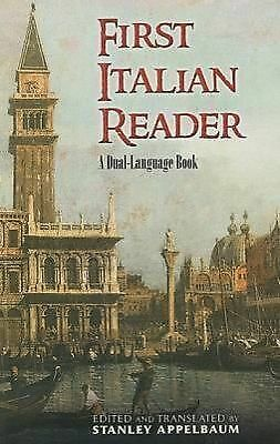 First Italian Reader: A Dual-Language Book (Dover Dual Language Italian) by