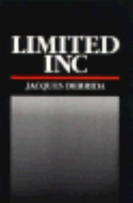 Limited Inc, Derrida, Jacques, Acceptable Book