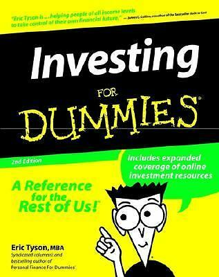 Investing for Dummies, Second Edition, Eric Tyson, Acceptable Book