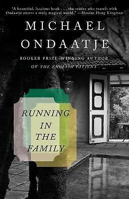 Running in the Family - Michael Ondaatje - Good Condition
