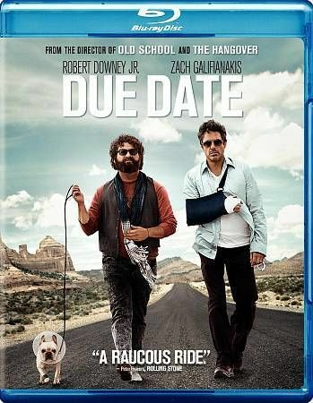 Due Date (Blu-ray Disc, 2013)