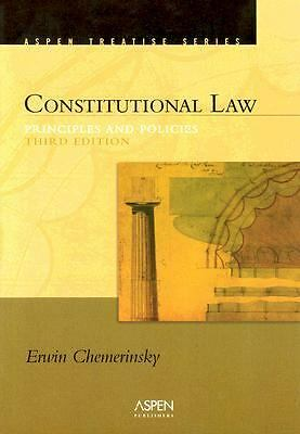 Constitutional Law: Principles And Policies (Introduction to Law Series) by Che