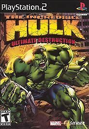 Incredible Hulk Ultimate Destruction