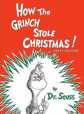 How the Grinch Stole Christmas!, Dr. Seuss, Good Book