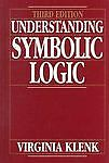 Understanding Symbolic Logic - Klenk, Virginia - Acceptable Condition