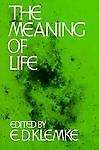 The Meaning of Life, , Acceptable Book