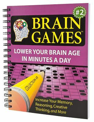 Brain Games #2: Lower Your Brain Age in Minutes a Day  Elkhonon Goldberg