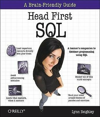 Head First SQL: Your Brain on SQL -- A Learner's Guide, Beighley, Lynn, Good Boo