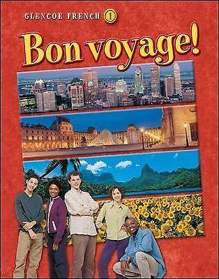 Bon voyage! Level 1, Student Edition (French Edition), Glencoe McGraw-Hill, Good