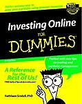 Investing Online For Dummies (For Dummies (Computers)), Sindell, Kathleen, Good